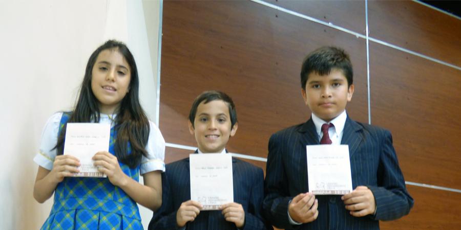 Estudiantes destacados en el tercer periodo académico