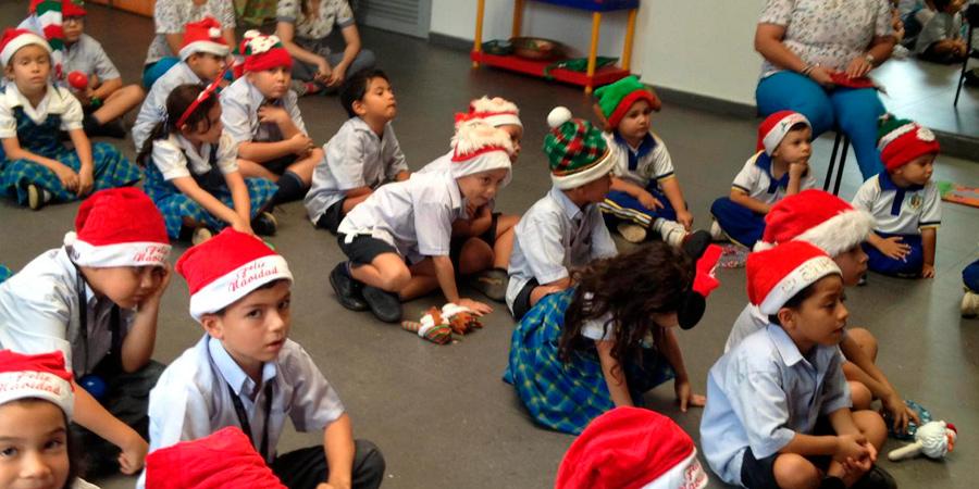 Vivimos la navidad en nuestro preescolar