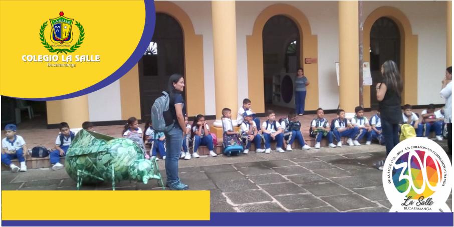 ESTUDIANTES DE SEGUNDO GRADO VISITARON EL CENTRO CULTURAL DEL ORIENTE