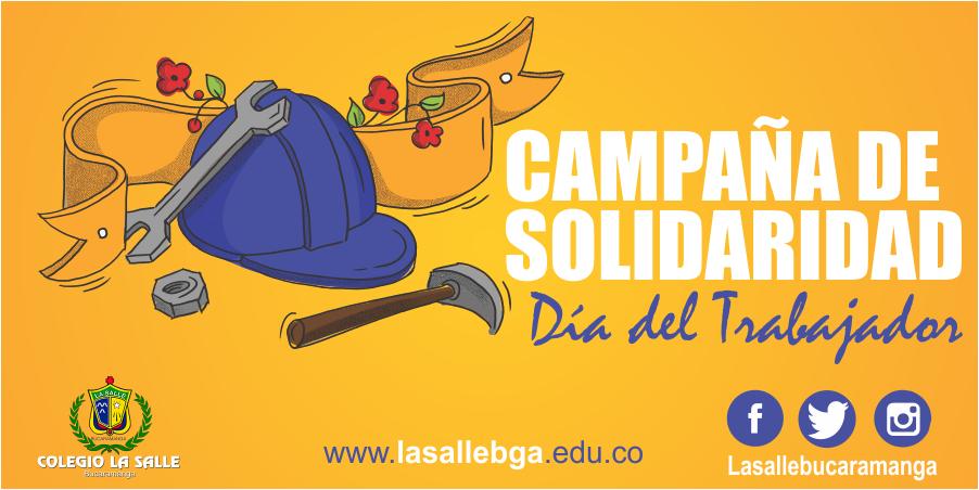 Campaña de Solidaridad y Gratitud – Día del Trabajo
