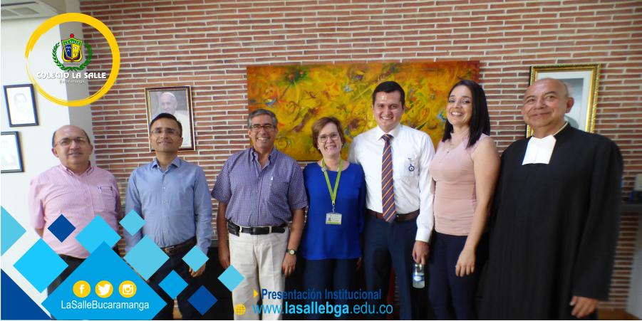 Visita del Vicerrector Académico de la Universidad de La Salle
