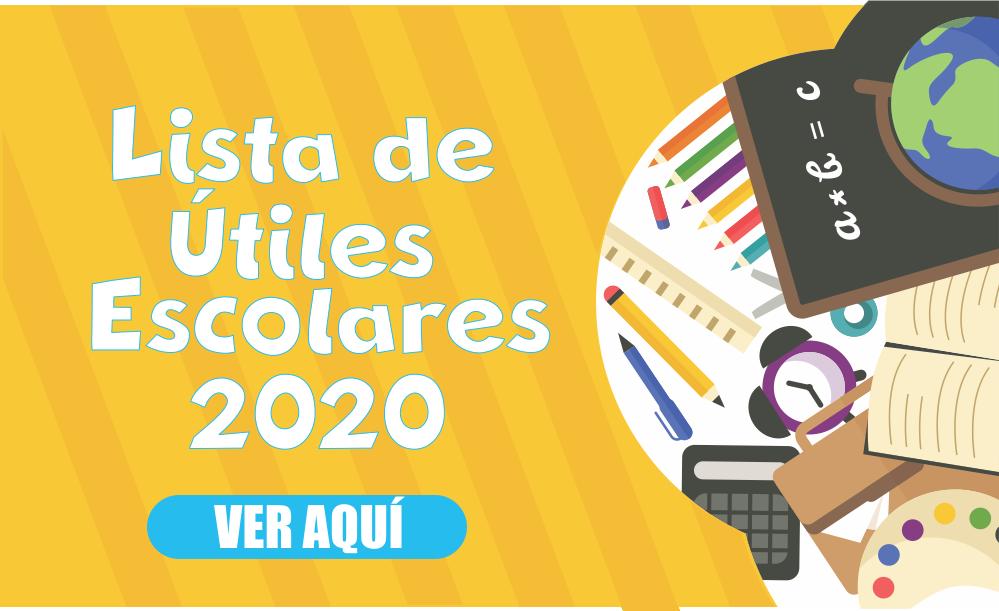 UTILES ECOLARES 2020
